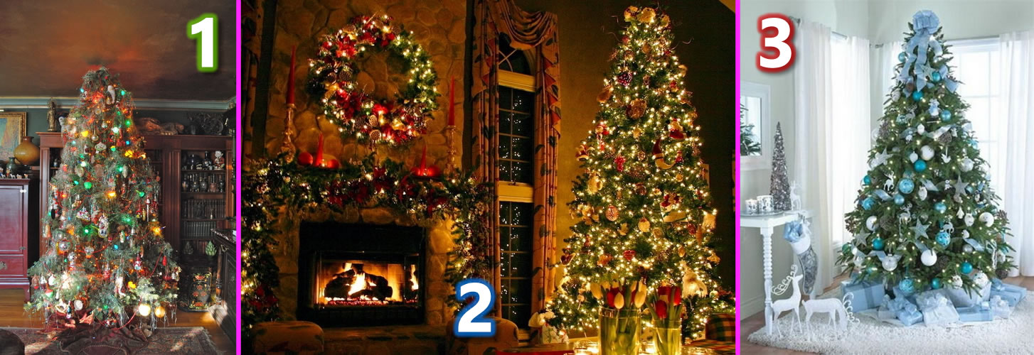 Which Tree Decor Says Christmas to You